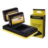 Duální nabíječka a dvě baterie PATONA pro NP-FW50