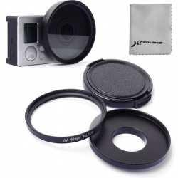 52 mm adaptér a filtr
