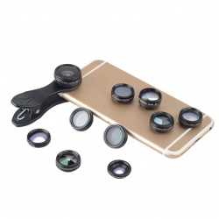 SADA 10v1 objektivů pro mobil