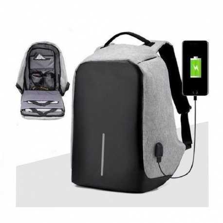 Bezpečnostní batoh s USB nabíječkou