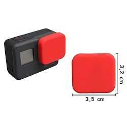 Silikonová krytka pro GoPro 5 | 6 | 7 - červená