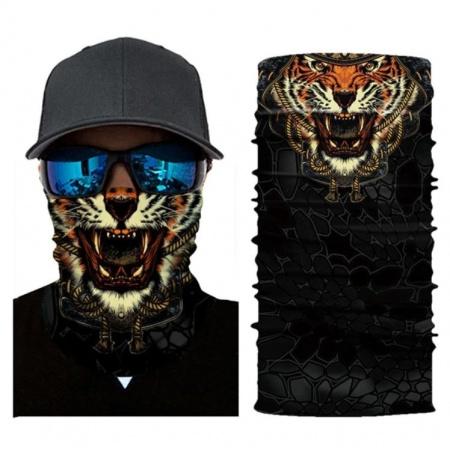 Nákrčník | šátek - luxusní tygr