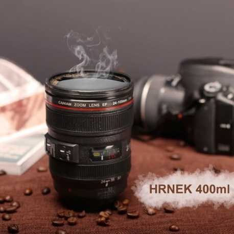 Dárek pro fotografy - Hrnek objektiv