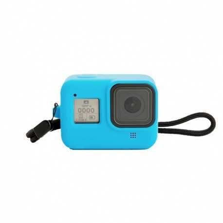 Silikonový obal pro GoPro Hero 8 - modrý