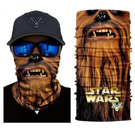 Nákrčník | šátek - Star Wars Chewbacca