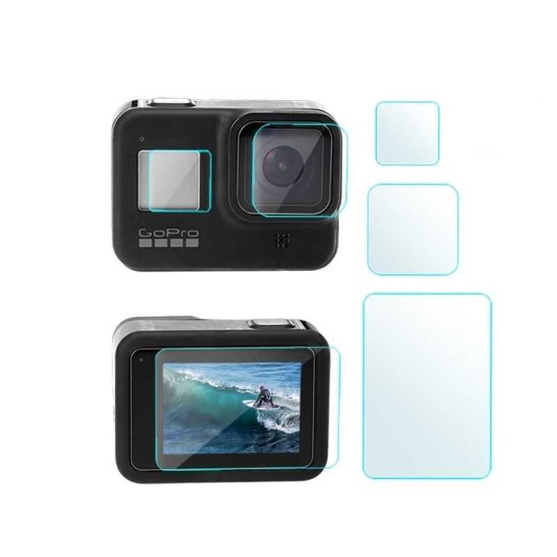 Sklo na displej a čočku pro GoPro Hero 8