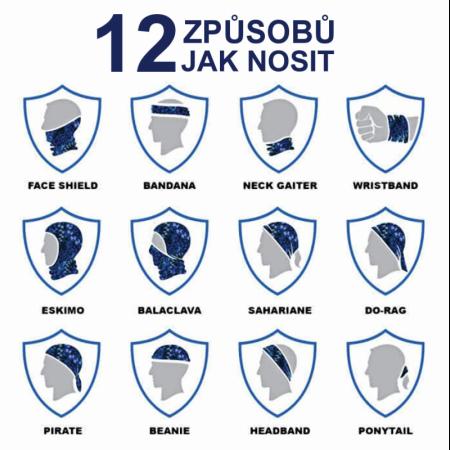 Nákrčník | šátek - Česká Republika